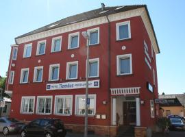 Hotel Romäus, Villingen-Schwenningen (Marbach yakınında)