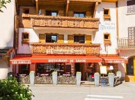 Logis Les Airelles Restaurant Le Savoie, La Clusaz
