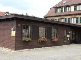 Hotelpension Klosterpost, Maulbronn (Ötisheim yakınında)