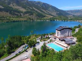 Park Hotel, Scanno (Villalago yakınında)