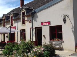 Auberge Saint Aubin, Saint-Aubin-le-Monial (рядом с городом Saint-Hilaire)
