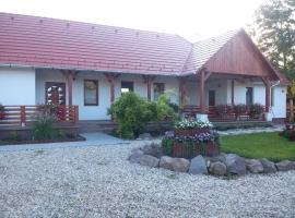 Napsugár Vendégház, Abaújkér (рядом с городом Абауйсанто)