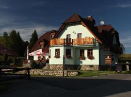 Penzion U Studeného potoka, Nové Hutě (Šindlov yakınında)