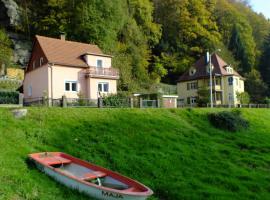 Strandhaus, Bad Schandau (Schmilka yakınında)