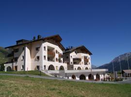 Ferienwohnungen Hotel Allegra, Zuoz (Cinuos-Chel yakınında)