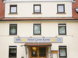 Hotel Garni Krone, Senden (Vöhringen yakınında)