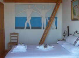 Zacharoula Rooms, Manganítis