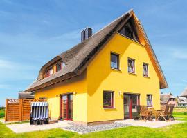 Reetdachhaus mit Sauna und Boddenblick - D 128.036, Vieregge (Grubnow yakınında)