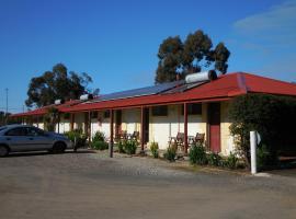 Inglewood Motel and Caravan Park Victoria, Inglewood (Wedderburn yakınında)