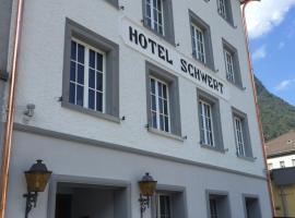 Hotel Schwert, Näfels (Glarus yakınında)