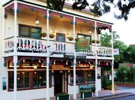 Historic National Hotel & Restaurant, Jamestown (Near Sonora)