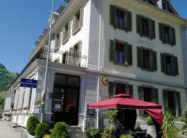 Hotel Pension de la Gare, Montbovon (Les Sciernes d'Albeuve yakınında)