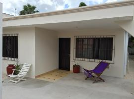 Casa Flores Cozumel Downtown - 2 Bedroom House Main Area