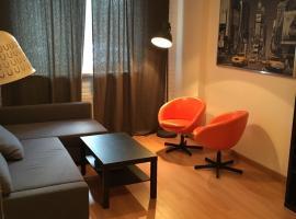 Comfortable apartment Vyacheslav Chornovil Street