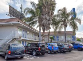 Motel 6 Los Angeles - Norwalk, Norwalk (in de buurt van Artesia)