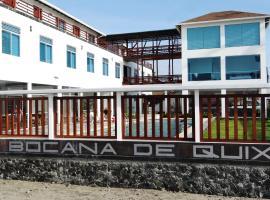 La Bocana de Quiximies Hotel, Cojimíes (La Unión yakınında)