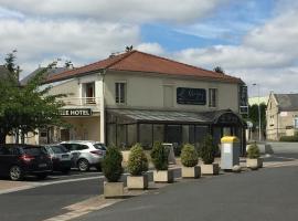 Hôtel Le Cerizay, Cerizay (рядом с городом Saint-André-sur-Sèvre)