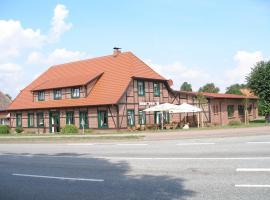 Gasthof Pritzier, Pritzier (Gößlow yakınında)