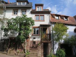 Historisches Ferienhaus Veste Dilsberg, Neckargemünd (Waldwimmersbach yakınında)