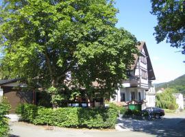 Hotel Garni Berghaus Sieben, Bad Laasphe (Breidenstein yakınında)
