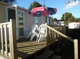 Calvados Normandy Holiday Lodge, Litteau (рядом с городом La Bazoque)