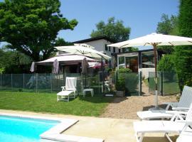La Maison de la Noisette, Annoisin-Chatelans (рядом с городом Hières-sur-Amby)