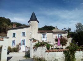Manoir Le Cristal - Futuroscope, Beaumont (рядом с городом Marigny-Brizay)