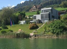 Villa am See mit einzigartigem Ausblick, Sarnen (Flüeli yakınında)