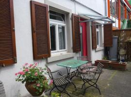City-Appartements im Hinterhof