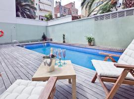 Apartment Barcelona Rentals - Gracia Pool Apartments Center