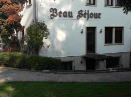 Hotel Restaurant Beau Séjour, Morsbronn-les-Bains (рядом с городом Gunstett)
