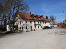 Gasthof Zur Post, Schwabhausen bei Dachau (Niederroth yakınında)