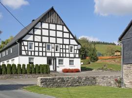 Ferienbauernhof Familie Stratmann, Eslohe (Kirchrarbach yakınında)