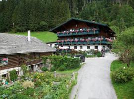 Appartement Ferienhof Ortnergut, Eben im Pongau
