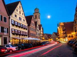 Meiser's Hotel am Weinmarkt, Dinkelsbühl (Langfurth yakınında)