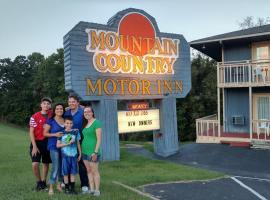 Mountain Country Motor Inn, Branson West (in de buurt van Kimberling City)