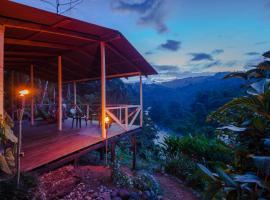 Ave Sol River Sanctuary, Turrialba (Bajo Tigre yakınında)