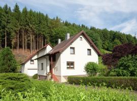 Apartment Ferienwohnung Thüringer Wald 1, Schönbrunn (Gießübel yakınında)