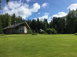 Huvila Sapso, Соткамо (рядом с городом Tervajärvi)