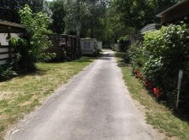 camping Les Esparnettes, Génolhac (рядом с городом Bonnevaux-et-Hiverne)