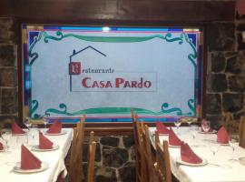Casa Pardo, Gibaja (рядом с городом Валье)
