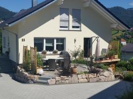 Ferienwohnung Schwarzwaldblick, Bühlertal