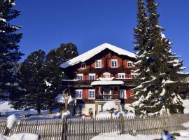 Ferienhaus Chalet Riedji, Furna (Jenaz yakınında)