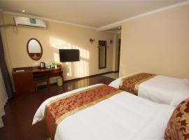 GreenTree Inn Tianjin Jinnan District Xianshui Guyuetan Express Hotel, Tianjin (Weiwangzhuang yakınında)