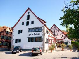 Landhaus Zum Falken, Tauberzell (Adelshofen yakınında)