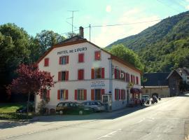 Hôtel de l'ours, Vuiteboeuf (Bullet yakınında)