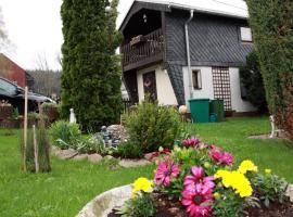 Holiday home in Marienberg 3111, Gelobtland (Großrückerswalde yakınında)