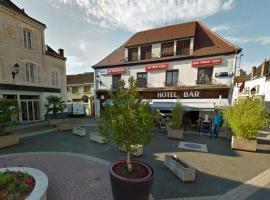 Hotel Au Bon Coin, Cloyes-sur-le-Loir (рядом с городом Courtalain)