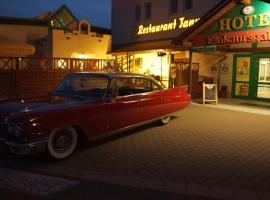 Zellwald Hotel, Großvoigtsberg (Großschirma yakınında)