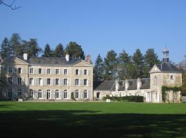 Chambres d'hôtes du Château de Champvallins, Sandillon (рядом с городом Saint-Cyr-en-Val)